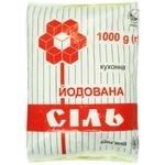 Соль каменная Артемсоль пищевая йодированная 1кг