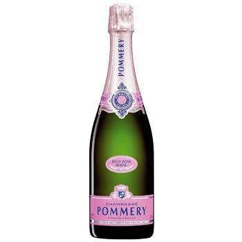 Шампанское Pommery Brut Rose Royal розовое брют 12,5% 0,75л