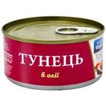 Тунець Фіш Лайн цілий в олії 185г