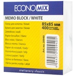Бумага для заметок Economix 85X85мм 400лист