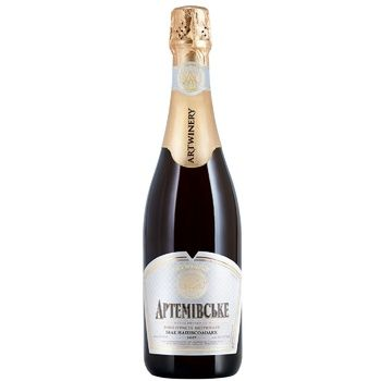 Artwinery Artemivsʹke Sparkling wine white semi-sweet 13,5% 0,75l - buy, prices for CityMarket - photo 1