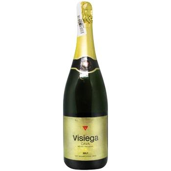 Cava Visiega Sparkling wine white brut 11,5% 0,75l