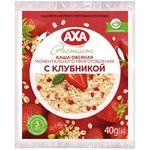 Каша вівсяна AXA з полуницею миттєвого приготування 40г