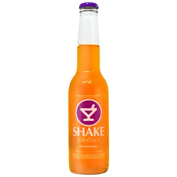 Low-alcohol sparkling drink Shake Sex on the beach 7%alc. 330ml - buy, prices for Auchan - photo 2