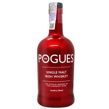 Виски Pogues односолодовый 40% 0,7л