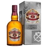 Виски Chivas Regal 12 лет 40% 1л в подарочной упаковке