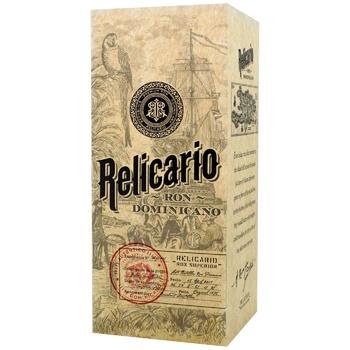 Ром Relicario Superior 40%  0,7л
