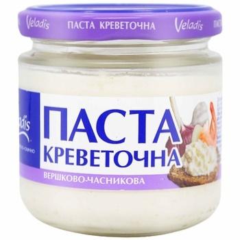 Паста креветочная Veladis сливочно-чесночная 150г - купить, цены на Таврия В - фото 1