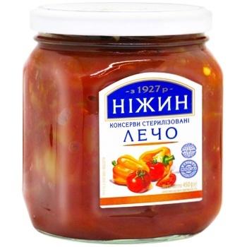 Лечо Нежин 450г - купить, цены на Ашан - фото 1