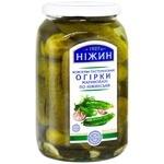 Nizhyn Nizhyn style marinated cucumbers 920g