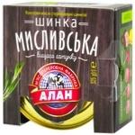 Alan Myslyvsʹka canned ham 325g