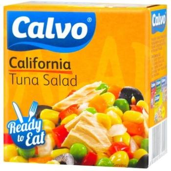 Салат Calvo з тунця 150г - купити, ціни на CітіМаркет - фото 1