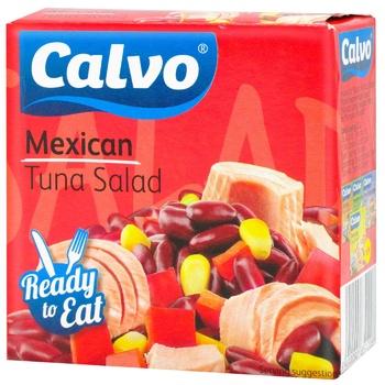 Салат з тунцем Calvo Mexican 150г - купити, ціни на CітіМаркет - фото 1