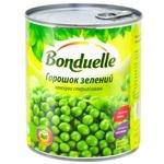 Горошек Бондюэль зеленый консервированный 850мл