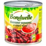 Фасоль Бондюэль красная в пикантном соусе чили 425мл