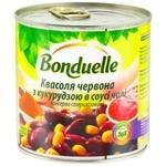Фасоль Bonduelle красная с кукурузой в соусе чили 425мл