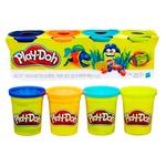 Игровой набор Hasbro Play-Doh тесто для лепки 4 баночки 448г - купить, цены на Novus - фото 3