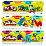 Игровой набор Hasbro Play-Doh тесто для лепки 4 баночки 448г