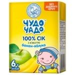 Chudo-Chado banana-apple juice with pulp without sugar for children from 6 months 200ml