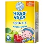Сок яблочно-вишневый без сахара Чудо-Чадо от 5-ти месяцев 200мл