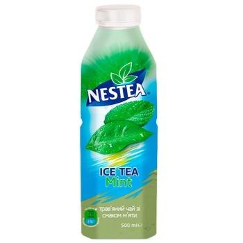 Чай травяной холодный Nestea Ice Tea со вкусом мяты 500мл - купить, цены на СитиМаркет - фото 1