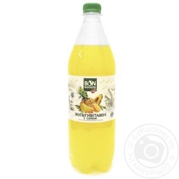 Beverage Bonboisson strongly carbonated 1000ml Ukraine - buy, prices for MegaMarket - image 1