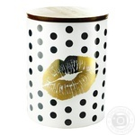 Storage Jar with Bamboo Cover 1l 14,5cm