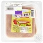 Шинка Тостерна варена зі свинини в/г Ходорівський МК 390г - купити, ціни на МегаМаркет - фото 1