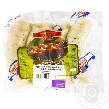 Колбаски Ходоровский мясокомбинат Мюнхенские высший сорт - купить, цены на МегаМаркет - фото 1