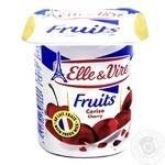 Десерт Elle&Vire молочный с вишней 125г - купить, цены на Восторг - фото 1