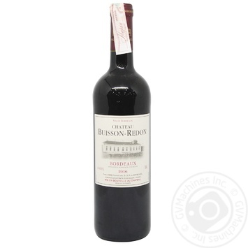 Chateau Buisson-Redon dry red wine 13% 0,75l - buy, prices for CityMarket - photo 1