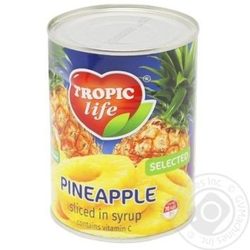 Pineapple rings Tropic life 580ml - buy, prices for Furshet - image 2