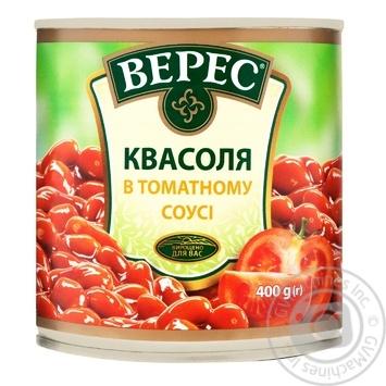 Veres in tomato sauce kidney bean  400g