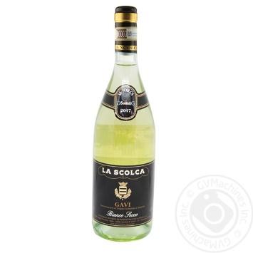 Вино La Scolca Gavi Bianco Secco біле сухе 12% 0,75л - купити, ціни на CітіМаркет - фото 1