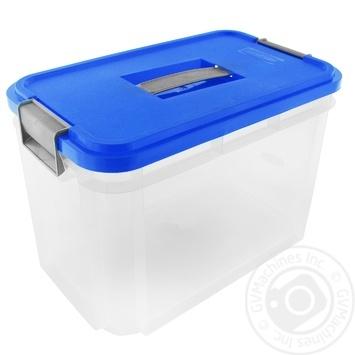 Ящик с ручкой для хранения 37x22x25.5см 14л