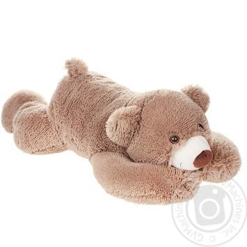 Игрушка мягкая Pink Elephant Медведь лежащий 70см