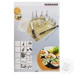 Набор для приготовления суши Fackelmann 12 предметов + книга рецептов