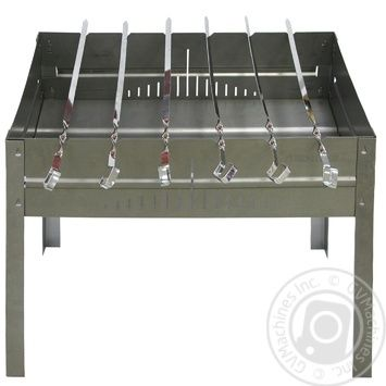 FORESTER Barbecue And 6 Skewers - buy, prices for MegaMarket - image 1