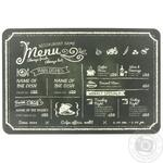 Коврик сервировочный полипропилен меню 30x45см