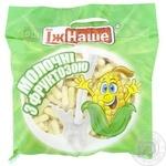 Палочки кукурузные Їж Наше молочные с фруктозой 150г