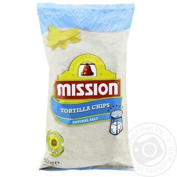 Чіпси Mission Foods кукурудзяні трикутні 500г - купити, ціни на Ашан - фото 1