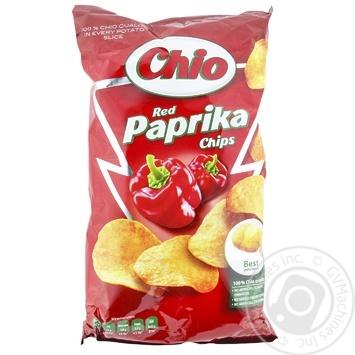 Чіпси Чіо Чіпс картопляні зі смаком паприки 150г Угорщина - купити, ціни на Novus - фото 1