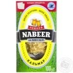Кальмар Пивной Nabeer соломка солено-сушеная 100г - купить, цены на МегаМаркет - фото 1