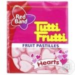 Конфеты жевательные Red Band Tutti-frutti Hearts 15г