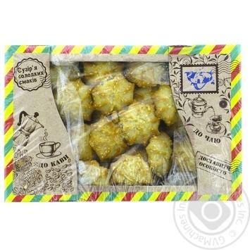 Печенье Сузирья Постное с кунжутом 450г