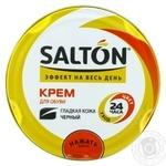 Крем для обуви из гладкой кожи Salton черный 50мл