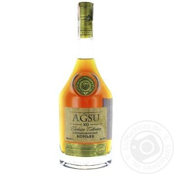 AGSU XO Cognac 10years 40% 0.5l - buy, prices for Novus - image 1