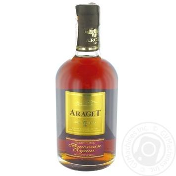 Araget Cognac 5* 40% 0.5l - buy, prices for MegaMarket - photo 1