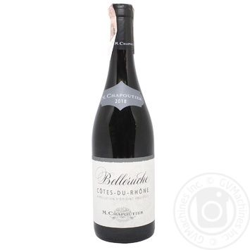 Cotes du Rhone Belleruche Rouge Red Dry Wine 14.5% 0.75l - buy, prices for MegaMarket - image 1