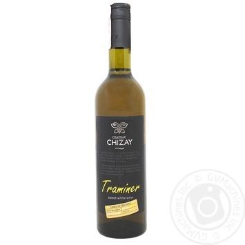 Вино Chateau Chizay Траминер белое десертное 16% 0,75л